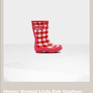 Original Gingham Waterproof Rain Boot HUNTER